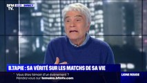 """Bernard Tapie: """"Boli voulait sortir"""" quelques minutes avant son coup de tête en finale de la Ligue des Champions"""