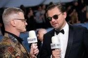 Leonardo DiCaprio Remembers Luke Perry at the SAG Awards
