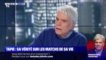 """Pour Bernard Tapie, Marine Le Pen """"n'a rien à voir"""" avec son père"""