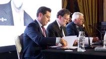 Moreno acude a la presentación de 'Una España mejor', de Rajoy