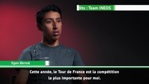 """TdF 2020 - Bernal : """"Le Tour, mon objectif principal en 2020"""""""