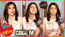 Jennifer Winget FUN Pol Khol Segment With Tanuj Virwani | Code M | EXCLUSIVE INTERVIEW
