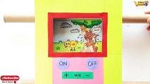 How to Make T.V For kids,Best out of waste,Cardboard T.V tutorial,