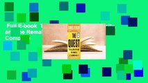Full E-book  The Quest: Energy, Security, and the Remaking of the Modern World Complete