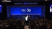Pour les 50 ans de Davos et son ouverture officielle, Ursula Von der Leyen a pris la parole