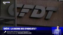 """Intrusion dans les locaux de la CFDT: la direction de la CGT ne """"cautionne pas de telles actions"""""""