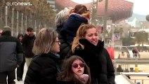 Sturmtief Gloria: starker Schneefall in Spanien, 4 Tote