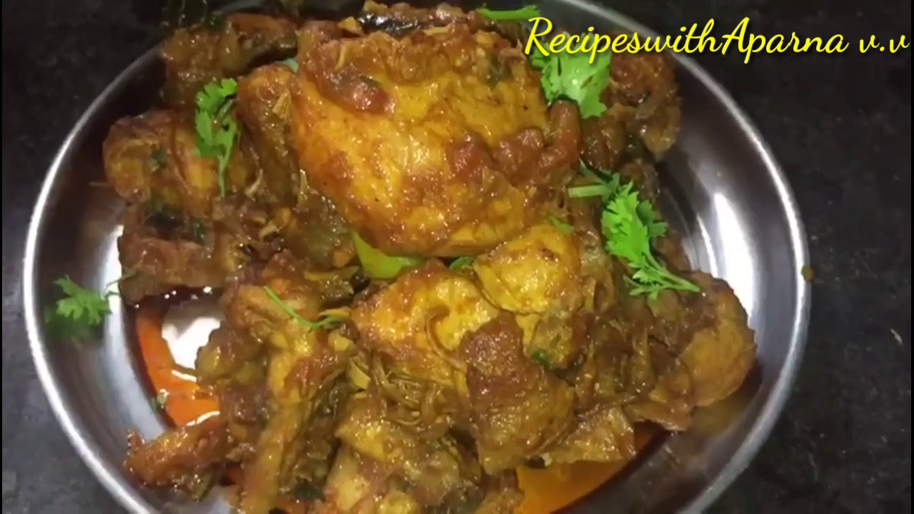 HOW TO MAKE CHICKEN FRY | CHICKEN RECIPE|CHICKEN CURRY