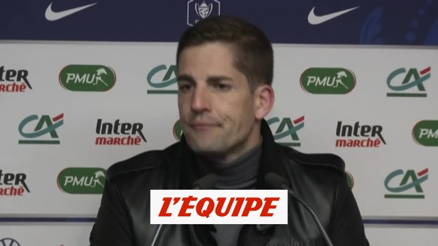 Moreno «Difficile de maintenir la pression» - Foot - Coupe de France - ASM