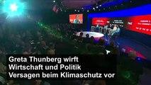 Greta Thunberg in Davos: Welt versagt beim Klimaschutz