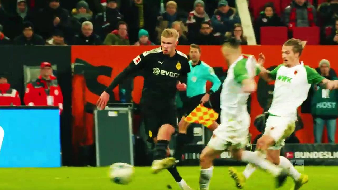 Bundesliga'da 18. Haftanın Oyuncusu | Erling Haaland (2019/20)