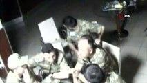 Darbecilerin Kara Kuvvetleri Komutanlığı'nda görev dağılımı yaptığı anların görüntüsü ortaya çıktı
