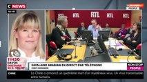 Morandini Live : Sébastien Demorand mort, Ghislaine Arabian et Périco Légasse réagissent (vidéo)