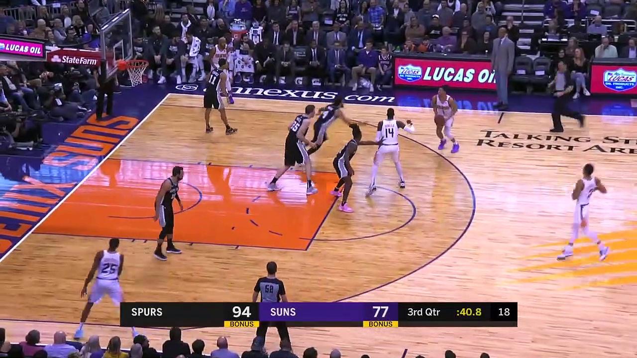 San Antonio Spurs 120 - 118 Phoenix Suns