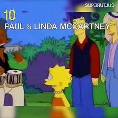Quand les stars de la musique se planquent dans les Simpson