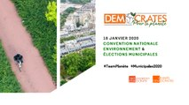 """Démocrates pour la planète - Convention nationale """"Environnement et élections municipales"""" - 1ère partie - 180120"""
