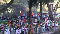 Queda de plataforma deixa dez mortos na Etiópia