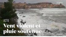 """La tempête """"Gloria"""" s'abat sur les Pyrénées-Orientales"""
