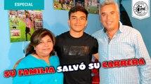 A Fernando Beltrán su familia le salvó su carrera como futbolista | Entrevista