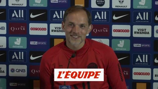 Tuchel «Le triplé de Mbappé ? Il ne rigole pas» - Foot - CdL - PSG