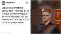 Sébastien Demorand, l'ex-juré de « MasterChef », est mort à l'âge de 50 ans