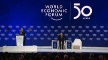 Trump critica 'catastrofistas' da mudança climática em Davos