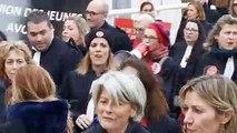 Les avocats manifestent contre la réforme des retraites à Toulon