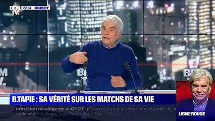 Malaise : Bernard Tapie furieux contre son portrait sur BFM TV