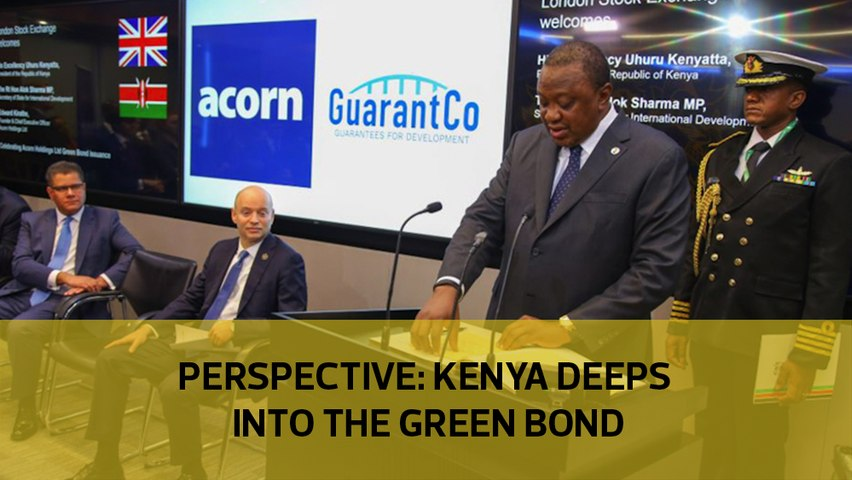 Perspective: Kenya deeps into green bonds