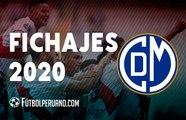 DEPORTIVO MUNICIPAL: FICHAJES 2020 -LIGA 1