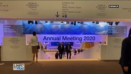 Davos : Greta Thunberg s'adresse au président américain