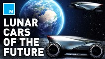 Take a drive to the moon in one of these lunar concept cars