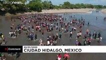 Tensions à la frontière mexicaine alors que des migrants tentent de traverser