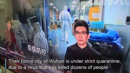 Spending Chinese new year under lockdown in Wuhan