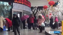 Cornavirus: Les images incroyables de Wuhan où les chinois sont en train de construire un hôpital en 10 jours pour accueillir les malades du virus