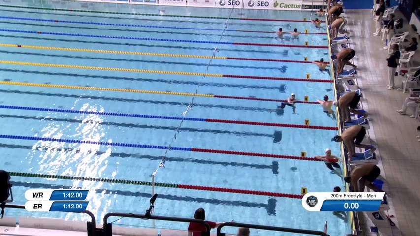 LEN SWIMMING CUP 2020 LEG 1 - HEATS -LUXEMBOURG - DAY 2