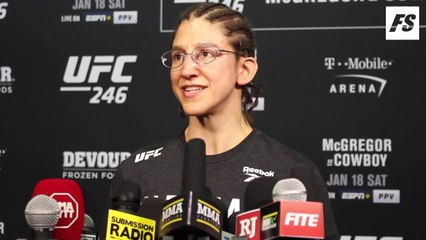 UFC 246: Roxanne Modafferi post-fight interview