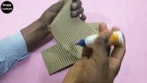 How To Make Pen Stand | Pen Holder Making Idea | Pen Holder