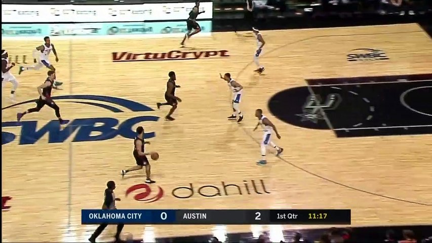 Quinndary Weatherspoon (21 points) Highlights vs. Oklahoma City Blue