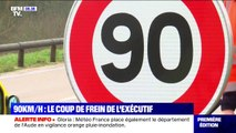 Dans une circulaire, l'État demande aux préfets de ne pas revenir à 90 km/h sur certaines zones