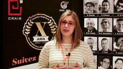 Mme Haifa Jabeur nous parle de la participation de SOPAL au 10ème anniversaire de la CRAIS