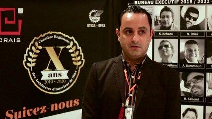 Interview  avec Mr Ahmed Hbaieb à propos la participation de Somocer Group au 10ème anniversaire de la CRAIS