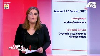 Adrien Quatennens - Public Sénat mercredi 22 janvier 2020