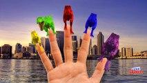 Colors Dinosaurs King kong Lion Finger Family