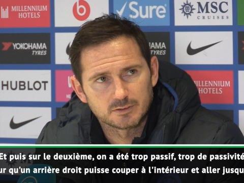 "24e j. - Lampard : ""On s'est trompé"""