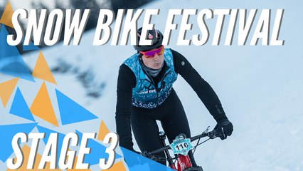 Snow Bike Festival 2020 - Gstaad (SUI) - Stage 3