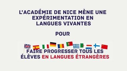 #PlanLangues Expérimentation au collège Roland Garros de Nice