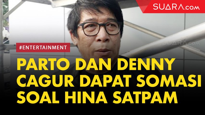 Dituding Hina Profesi Satpam di Acara OVJ, Parto dan Denny Cagur Dapat Somasi