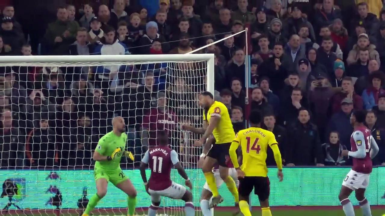 Aston Villa - Watford (2-1) - Maç Özeti - Premier League 2019/20
