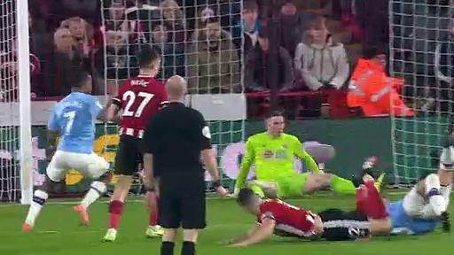 Sheffield United - Manchester City (0-1) - Maç Özeti - Premier League 2019/20